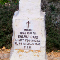 Memorial to Salvu Said