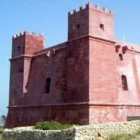 Red Tower. Mellieha, Malta